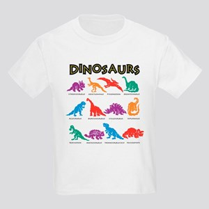 Dinosaurs1 Kids Light T-Shirt